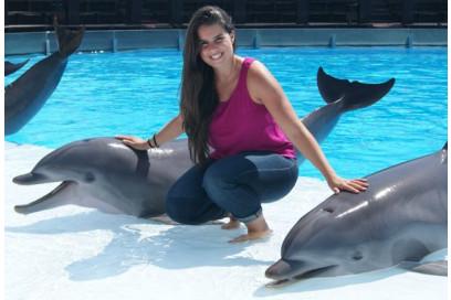 nadar con delfines andalucia
